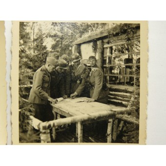 WW2 German wartime photos. Espenlaub militaria