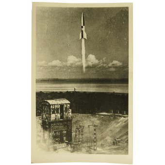 V-2 Rocket at the start. Espenlaub militaria