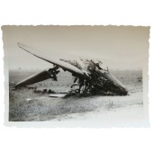 Destroyed French plane