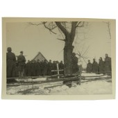 The funeral of German soldiers