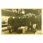 Group photo of the Luftwaffe soldiers before being send to the front. Koblenz