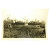 German cemetery at the eastern front
