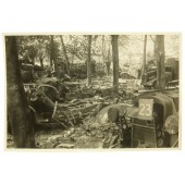 Western front destroyed vehicles/ British Morris-Commercial CS8, Opel-Blitz