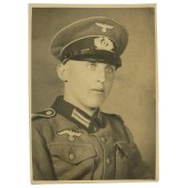 Infantryman of the Wehrmacht in Austrian-type uniform and  visor cap
