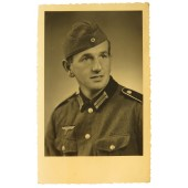 Portrait of Wehrmacht soldier in M 36 tunic- Hans Wiesinger