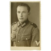 Portrait photo of obergefreiter from 40th artillery regiment