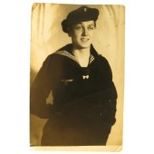 German Kriegsmarine sailors studio portrait
