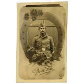 Portrait photo Luftwaffe air defense artillery soldier