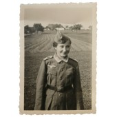 Female in the Wehrmacht uniform