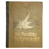 """Die Deutsche Wehrmacht"", collectors album with cards."