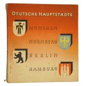 Propaganda book - The towns of the Germany with some 3rd Reich propaganda