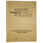 "Illustrations by Eastern Front combat artists ""Kampf und Kunst"""