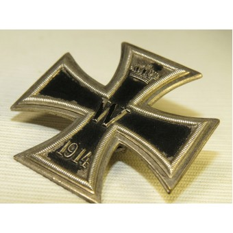 1914 Iron cross first class. One piece die struck made. Espenlaub militaria