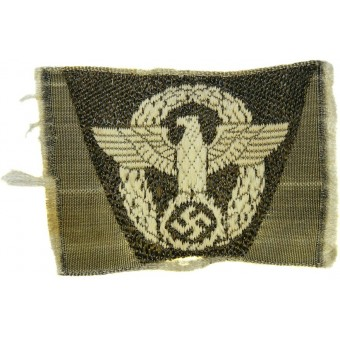 3rd Reich Be Vo Polizei/ Police eagle patch for female personnel of Gendarmerie for headgear