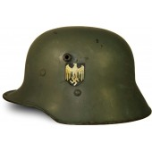 Austrian M 16 Double decal Wehrmacht Heer re-issue  helmet