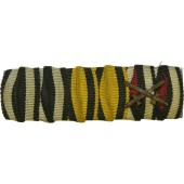 First World War soldiers ribbon bar