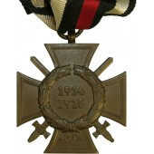 Hindenburg cross. Commemorative cross 1914-1918 for combatant