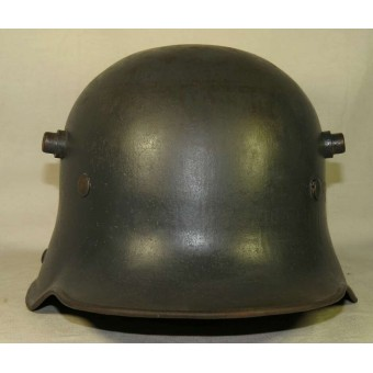 Luftwaffe M 16 re-issued helmet BF 64. Espenlaub militaria