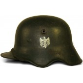 M 18 cut out Wehrmacht single decal helmet ET 64