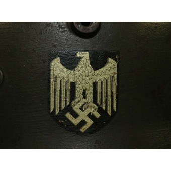 M 18 Double decal transitional Wehrmacht Heer helmet. Espenlaub militaria