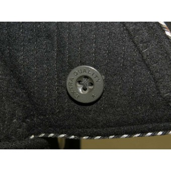 M 32 overcoat for SS-Oscha in 4 Hundertschaft-SS Totenkopfstandarte Thuringen