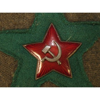M 38 Cotton beize Budyonovka for Border Guard troops of NKVD. Espenlaub militaria