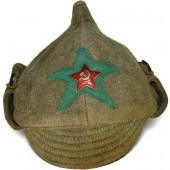 M 38 Cotton beize Budyonovka for Border Guard troops of NKVD