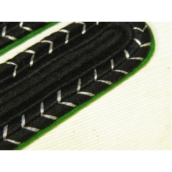 SS-Sicherheitsdienst, SD Sturmmann sew-in Shoulder Boards. Espenlaub militaria