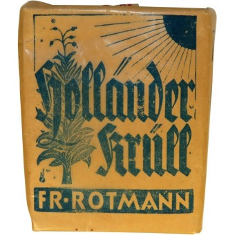 Tobacco for German soldiers. Nur fur Fronttruppe. Espenlaub militaria