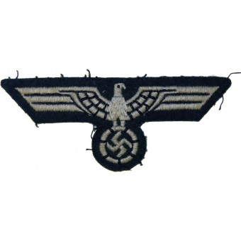 Tunic removed private made breast eagle for Wehrmacht Heeres enlisted personnel. Espenlaub militaria