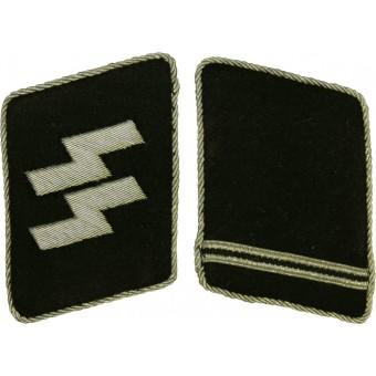 Waffen SS collar tabs for SS- Ostuf or SS-Ostubaf. Espenlaub militaria