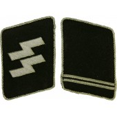 Waffen SS collar tabs for SS- Ostuf or SS-Ostubaf