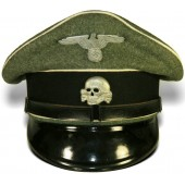 Waffen SS Infantry enlisted men visor hat. Kleiderkasse