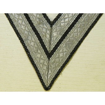 Waffen SS or Panzertroops, Obergefreitor or SS-Rottenfuehrer sleeve rank patch. Espenlaub militaria