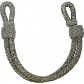 Wehrmacht Heer, Luftwaffe or Waffen SS chin cord for officers visor hat