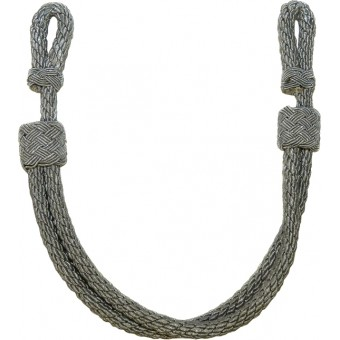 Wehrmacht Heer, Luftwaffe or Waffen SS officers chin cord for visor hat. Espenlaub militaria