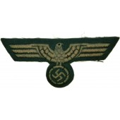 Wehrmacht Heer, private factory made enlisted personnel breast eagle