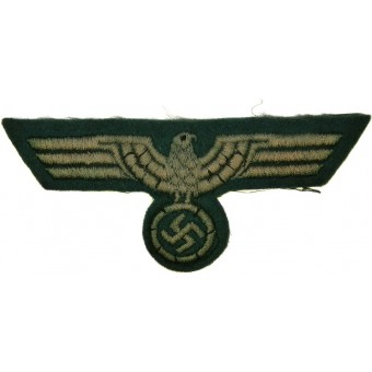 Wehrmacht Heer, private factory made enlisted personnel breast eagle. Espenlaub militaria