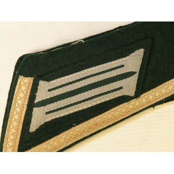 Wehrmacht Heer Tunic removed collar for NCO. Espenlaub militaria
