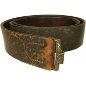 Wehrmacht or Waffen-SS leather combat belt
