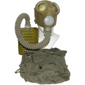 Gasmask BS MT-4 with adapted Estonian mask ARS. Rare.