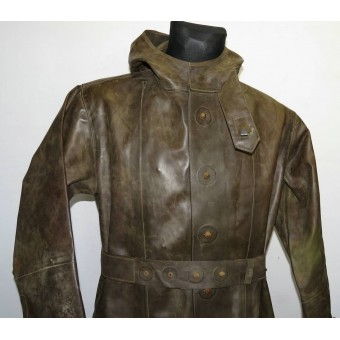 Red Army WW2  gas and chemical defense rubberized overall-OZK, 1941. Espenlaub militaria