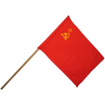 USSR small flag for parades and other celebrations. Espenlaub militaria