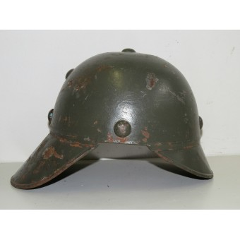 WW2 Soviet Anti aircraft protection steel helmet. Rare!. Espenlaub militaria
