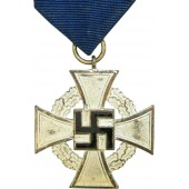Faithful Service Cross, for 25 years of excellent non-combat service