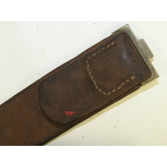 German Combat leather belt. Early issue. Espenlaub militaria