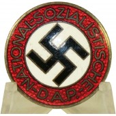 German nazi party NSDAP member's badge, M1/102RZM