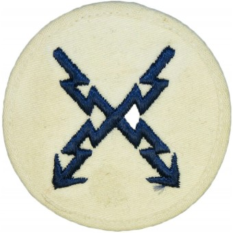 Kriegsmarine trade sleeve patch for Teletype operator.. Espenlaub militaria
