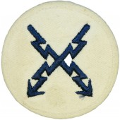 Kriegsmarine trade sleeve patch for Teletype operator.