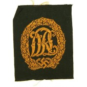 Sport badge DRL, bronze class, cloth variant.